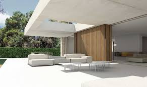 open plan daylit house caA ada embraces its natural the house caA ada open plan layout valencia swimming pool