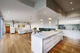 open plan living house plans australia