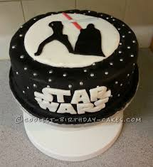 up star wars cake for a self confessed geek