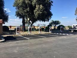 May Ranch Harris Ranch Supercharger Teslarati Com