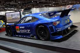 subaru brz body kit subaru brz joins its toyota sibling at the tokyo motor show live
