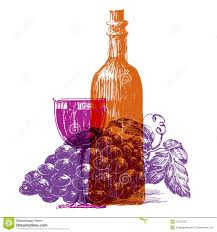 wine vector wine vector logo design template grape or glass stock vector