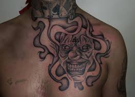 clown face tattoo tattoo collections