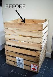 Crate Bookcase Diy Crate Bookshelf Hometalk