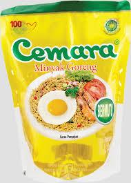 Minyak Kelapa Di Supermarket sribu poster design desain poster untuk produk minyak go