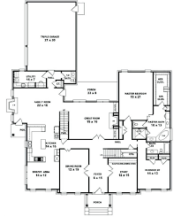one story house blueprints one story house plans with and bedroom floor interallecom 5 2
