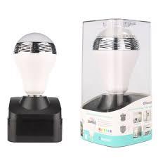 Bluetooth Light Bulb Speaker Bl05a E27 3w Bluetooth 4 0 Smart Rgb Color Led Bulb Music Audio