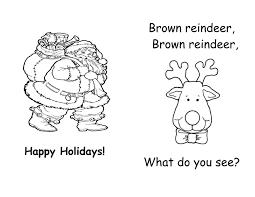 brown reindeer printable book teacher stuff printable