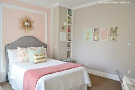 Pink And Gold Bedroom by My Home Tween Bedroom Reveal Sita Montgomery Interiors