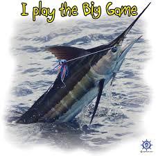 a blue marlin t shirt design at http captntom com fishing t