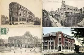 bureaux de poste lille cpa cartes postales anciennes 4 cpa lille valenciennes