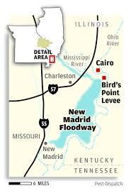 Missouri Illinois Map by A Year Later Disagreement On Whether Missouri Levee Blast Was
