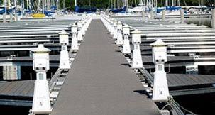 marina power and lighting electrical distribution