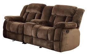 Microfiber Reclining Sofa Homelegance 9636 2 Laurelton Textured Plush Microfiber