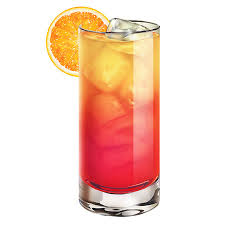 red cocktails jamaican sunrise recipe