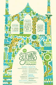Portland Breweries Map by 2015 Poster Revealed U2013 The 11th Annual St Johns Bizarre May 13