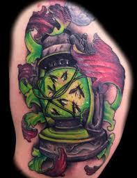 lantern tattoo designs