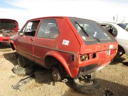 volkswagen rabbit junkyard find 1984 volkswagen rabbit the truth about cars