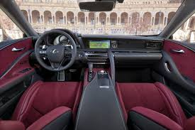 lexus lf lc concept interior lexus wows with new flagship the lc 500 500h coupe toronto star