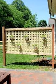Fence Ideas For Patio Use A Privacy Fence For A More Private Deck Or Patio Plenty Of