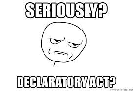 Mad Meme Face - seriously declaratory act meme face mad meme generator