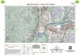 City Of San Jose Zoning Map by Maps Are You In A Metro Manila Earthquake Zone Nation News