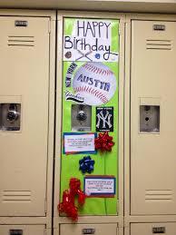 how i decorated my friend austyn u0027s locker for his birthday he u0027s a