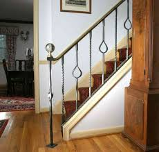 interior railings home depot stairs inspiring metal stair railing kits amazing metal stair