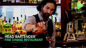 Bartender Job Summary Head Bartender Job For A Voted Best Restaurant Bar In Dubai