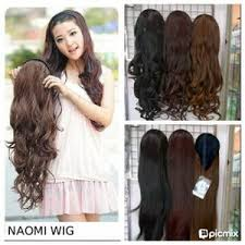 hair clip rambut wig bando hair clip bando new fiber high quality elevenia