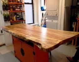 maple kitchen islands maple kitchen island etsy