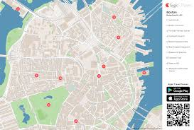 Chicago Trolley Map by Boston Map Kredi Notu