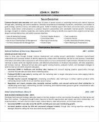 Sales Management Resume Examples by Executive Resume Examples 24 Free Word Pdf Documents Download