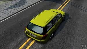 yellow subaru wagon subaru legacy touring wagon 2003 for gta san andreas