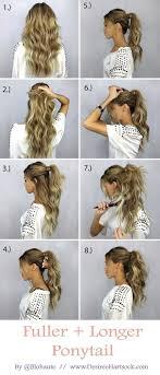 Hochsteckfrisurenen Selber Machen Lange Haare by Die Besten 25 Frisuren Für Lange Haare Ideen Auf