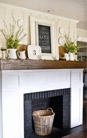 Mantel Shelf Designs Wood by Best 25 Wood Mantle Ideas On Pinterest Rustic Mantle Rustic