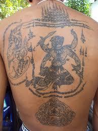 thai tradition of tattooing sak yant sirinya u0027s thailand