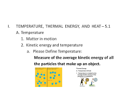 note taking worksheet temperature and thermal energy answers