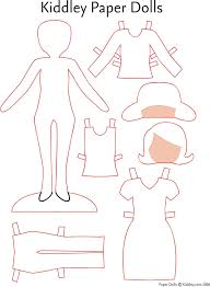 paper doll template download free u0026 premium templates forms