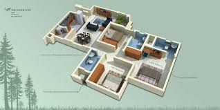 apartments in south bangalore isometric views