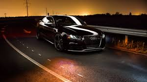 sunset audi audi road sunset cars hd 4k wallpapers