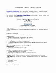 basic resume format for engineering students sle resume objectives for freshers copy 54 awesome s sle