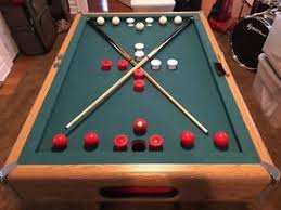 atomic classic bumper pool table used bumper pool table good condition ebay