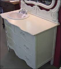 furniture shabby white painted teak wood bathroom kabinet with