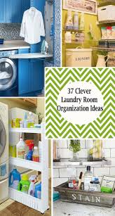 Kitchen Tidy Ideas by 37 Amazingly Clever Ways To Organize Your Laundry Room