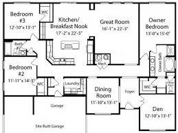 floor plans house ranch house floor plans with loft home interior plans ideas