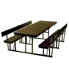 cafeteria benches barricks manufacturing cafeteria break room tables
