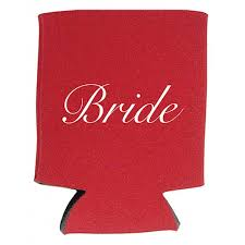 shower koozie to be custom wedding koozies