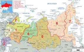 The Great Plains Map The Great Siberian River Ob Russiangeography Com Throughout