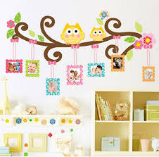 Owl Wall Decor by Baby Owl Wall Stickers For Bedroom Tree Wall Decor Stickers